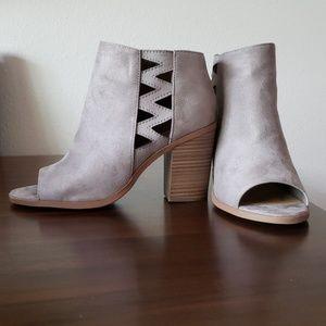 NWOB open toe booties